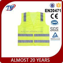 3m hi vis safety vest green tops