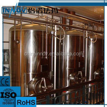 red copper tank used brewery equipment for sale with different capacity