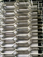 Factory Wuxi Fangtai 16*62mm low price high quality hexagon aluminum expanded metal mesh