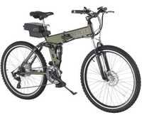 2016 new Baogl electric folding mountain bike pedelec electric bike