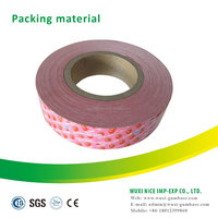 bubble gum colored wax chewing gum wrapping paper