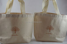 Eco-friendly Germany quality custom natural recycled cotton canvas tote bags