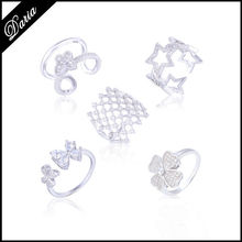 DLY 2015 New products Latest design Fashion 925 Sterling Silver Rings Jewelry for women
