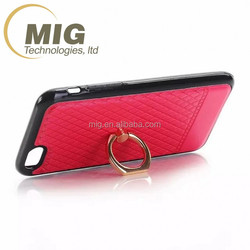 Finger Strap Ring Smart Phone Back Sticker Universal Stand Case Cover For Apple Iphone 5/ 5S/ 6/ 6S plus