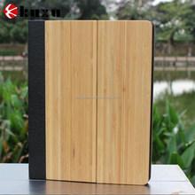 New design wooden flip case for Apple ipad