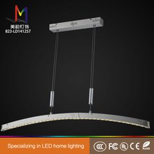 Plastic modern led crystal chandelier made in China