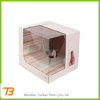 Alibaba china new design paper packaging boxes with window