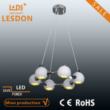 led light ball modern pendant lamp& chandelier