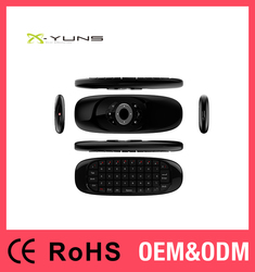 <X-YUNS>X-11 Fly Air Mouse 3-IN-1 Combo 2.4GHz Wireless Keyboard