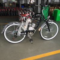 26 inch cruiser motor bike bicycle gas oline engine for bicycle motor petrol bike supplier