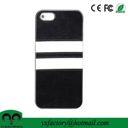 alibaba wholesale PC PU leather cell phone case for iphone 4s