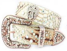 2015 Popular Womens Western Belts With Rhinestones