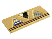 Montessori toys Tray for Snake Game 1