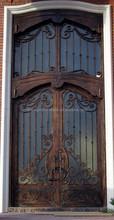 SEN-D121 Luxury Wrought Iron Entry Door