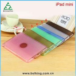 Bling TPU Tablet Leather Case for ipad mini flip wallet leather case