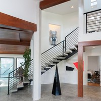 Foshan Factory Wall Mounted Removable Glass Staircase Handrail