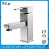 CE RoHS Listed Chrome Plated Brass Single Lever Basin Faucet Single Handle Basin Faucet