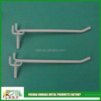 2015 new design high quality metal supermarket peg hook