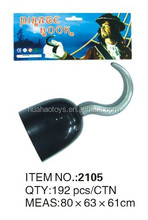 Top Quality Black PIRATE HOOK for party accessories