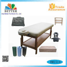 CE massage table fixed massage table massage table with storage