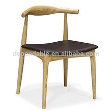 253 Silla de madera para comedor clásica de diseño popular
