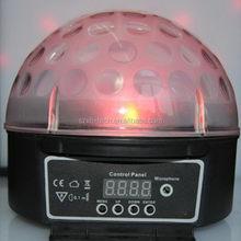 Good quality best selling disco dj rgb magic ball light