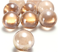 FREE SHIPPING 100pcs 16mm pink glass ball 1.6cm rose red glass ball