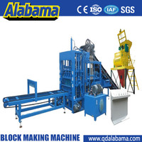 hydraulic transmission automatic concrete block machine production lines
