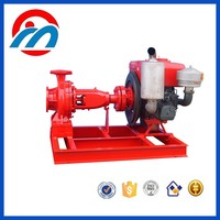 Single-stage electric irrigation pump water centrifugal station