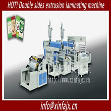 Double Sides PE PP Extrusion Machine Coating Laminating machine for CPP BOPP with plastic-woven