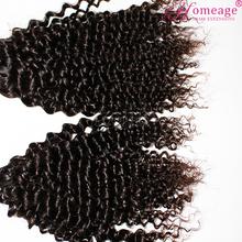 homeage wholesale human tangle free fluffy kinky curly virgin hair