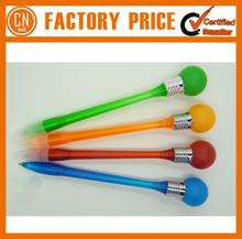Hot Sale Promotional Printed Bulb Lamp Pen Plastic Ballpoint Pen