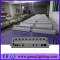 Especial de lavado de luz de la batería operada 9 piezas lavadora dmx512 de control/barra de luz