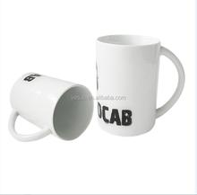 2015 fishion design 10oz sublimation 3 Finger- Handle mug