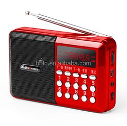 Sound box mini protable speaker with FM radio,Clock (KK62)