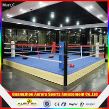 New design customized size fighting boxing ring with lower price