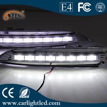 Good Quality High Power 12V Daytime Running Lights Car Led DRL lamp for Crosstour