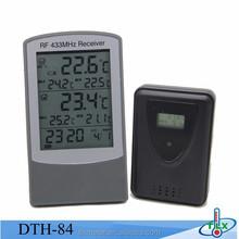 RF 433Mhz Sensor Digital Max Min Remote Control Thermometer