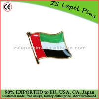 UAE flag pins/ lapel pin UAE/ cheap flag pins