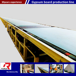 professional factory of gypsum board production in India / gypsum board production in India made in China