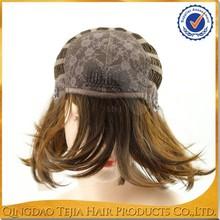 Natural looking wholesale Qingdao factory jewish kosher human hair wigs