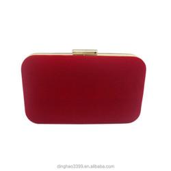 Hot!!! Red Evening Bag Clutch Wallet Purse Shoulder Chain Bag Elegant Lady Handbag Bag