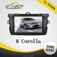 car dvd player gps rear view camera for toyota corolla