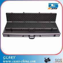 Black aluminum frame and ABS material shotgun gun case