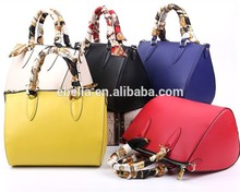 Fashion sale guangzhou handbag tote bag blank ladies' handbag at low price with CE certificate