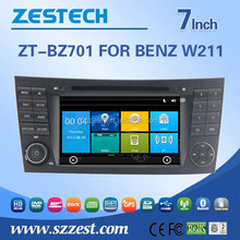 for mercedes benz w211 car radio with Rear View Camera GPS BT TV RDS