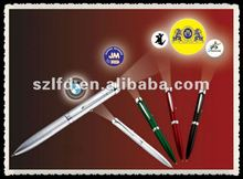 profashional yellow color led private logo pen light for halloween
