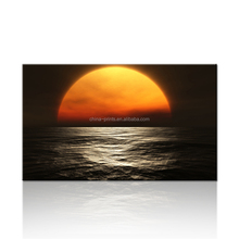 Beautiful Sunrise Wall Picture Art/Natural Scenery Canvas Painting/Sea Landscape Canvas Printing Art