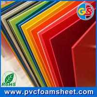 color pvc flexible plastic sheet(RoHs passed)/hot size 1.22m*2.44m/biggest manufacturer in Shanghai