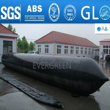 Buy Rubber lifting Ship launching marine airbag with synthetic-tire-cord reinforcement